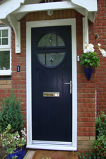 composite doors by crown conservatories