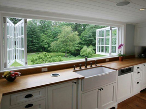 double glazing - folding windows