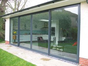 patio doors by Crown Conservatories in Hampshire