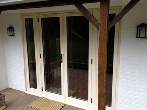Timber Alternative Doors by Crown Conservatories