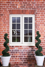 Timber Alternative Windows by Crown Conservatories in Fleet
