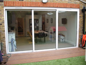 Visoglide Doors by Crown Conservatories in Hampshire