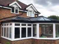 P Shape Conservatory by Crown