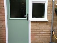 Chartwell Green composite door in Blackwater