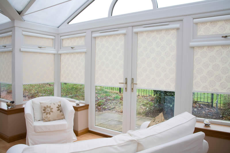 Reduce heat in conservatory